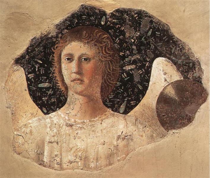 Head Of An Angel, 1466 - Piero della Francesca