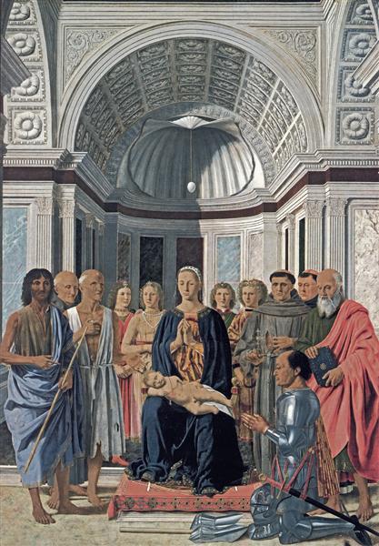 Вівтар Монтефельтро, 1472 - П'єро делла Франческа