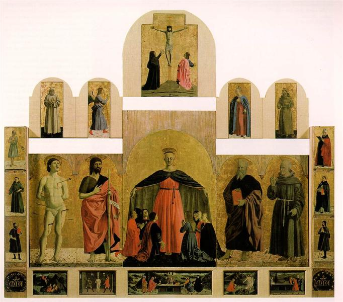 Polyptych of the Misericordia, 1445 - 1462 - Piero della Francesca