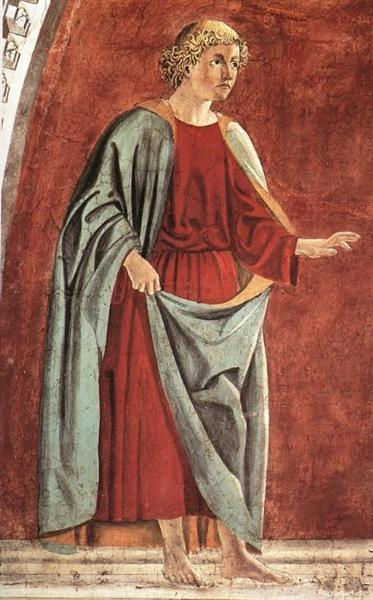 Prophet, 1452 - 1466 - Piero della Francesca