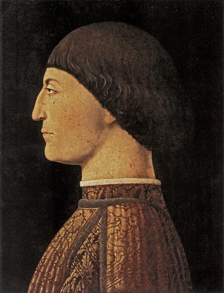 Sigismondo Malatesta, 1451 - Piero della Francesca