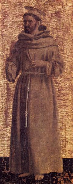 St. Francis, 1444 - 1464 - Piero della Francesca