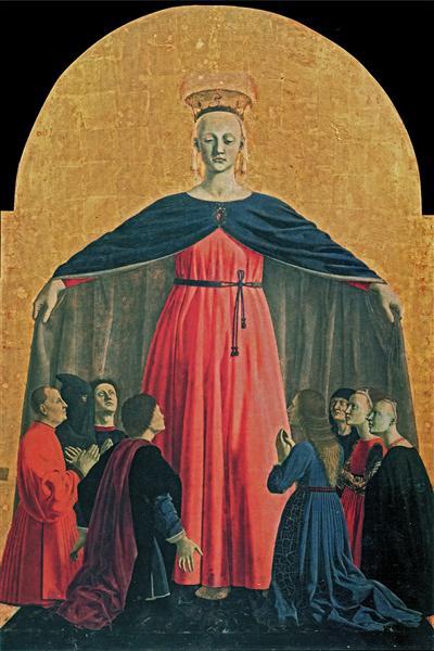 The Madonna of Mercy, 1445 - Piero della Francesca