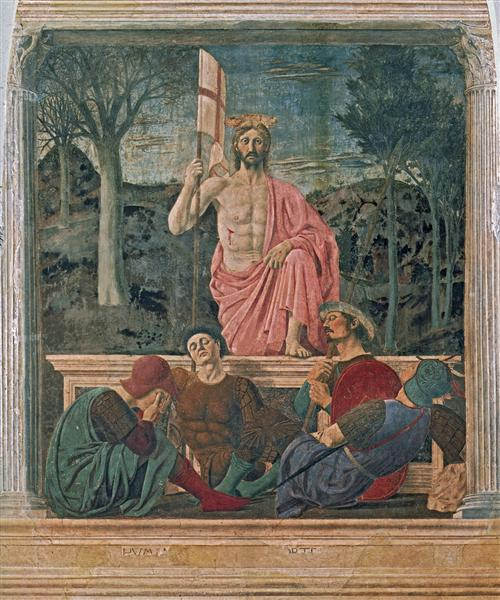 The Resurrection, c.1460 - Piero della Francesca