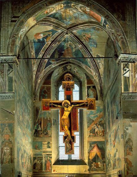 View of the Cappella Maggiore, 1452 - 1466 - Piero della Francesca