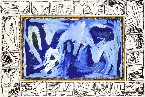 Jour balte, 1992 - Pierre Alechinsky