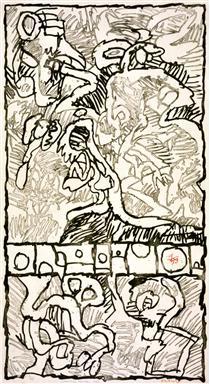 Jumbled Ephemerides - Pierre Alechinsky