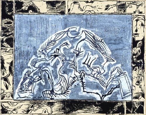 Terril III, 2005 - Pierre Alechinsky