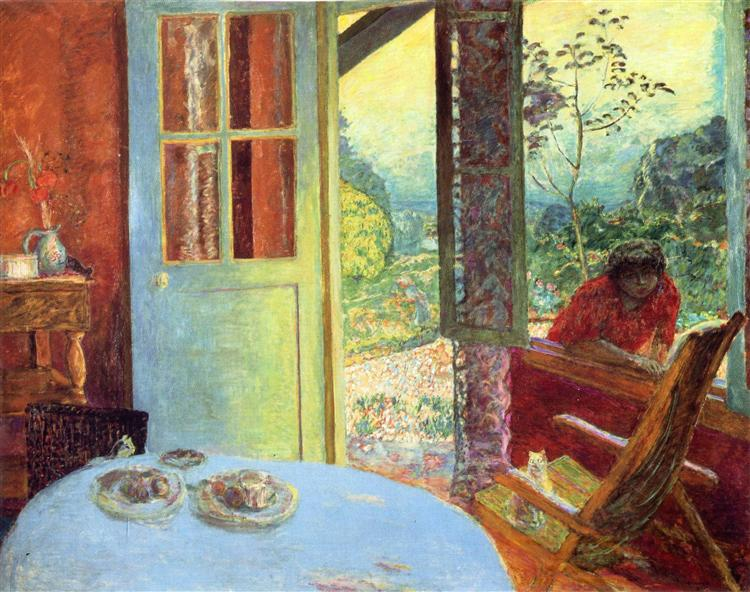 The Dining Room in the Country, 1913 - Pierre Bonnard