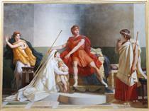 Andromache and Pyrrhus - Pierre Narcisse Guérin