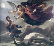 Justice and Divine Vengeance pursuing Crime - Pierre Paul Prud'hon