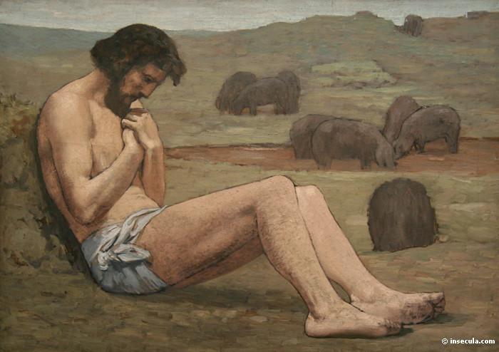 The Prodigal Son, 1872 - Pierre Puvis de Chavannes