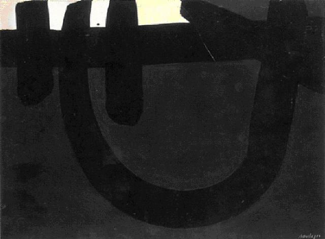 Peinture 8 août 1974, 1974 - Pierre Soulages