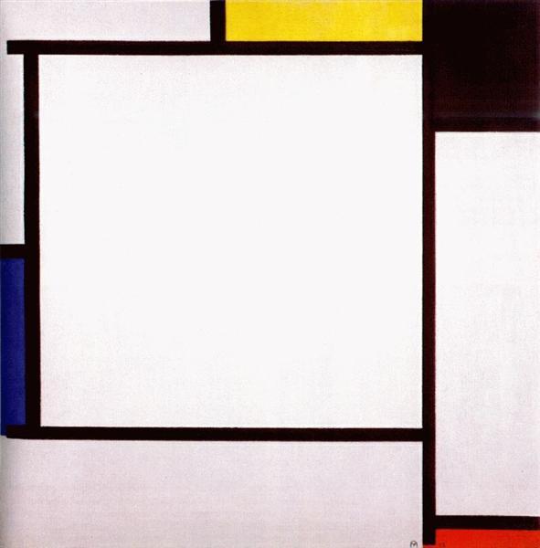 Composition 2, 1922 - Piet Mondrian