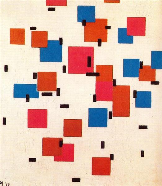 Composition in Color A, 1917 - Piet Mondrian
