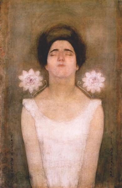 Passionflower, 1908 - Piet Mondrian