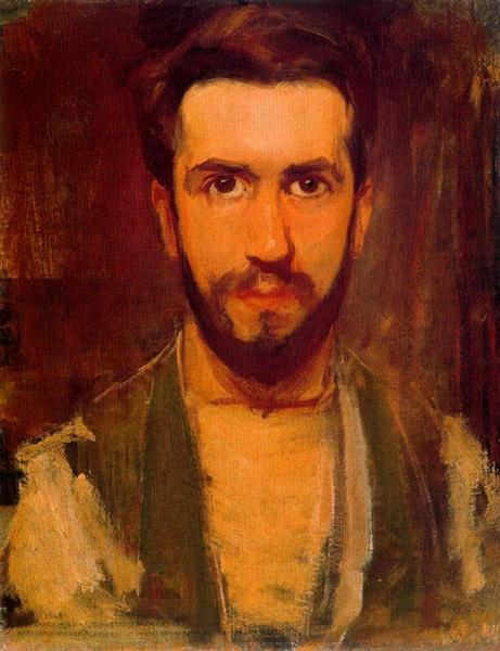 Self Portrait, 1900 - Piet Mondrian