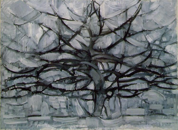 The Gray Tree - Piet Mondrian