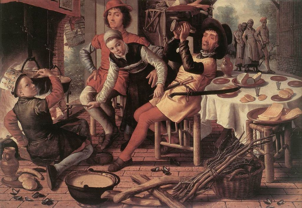Peasants by the Hearth, 1560