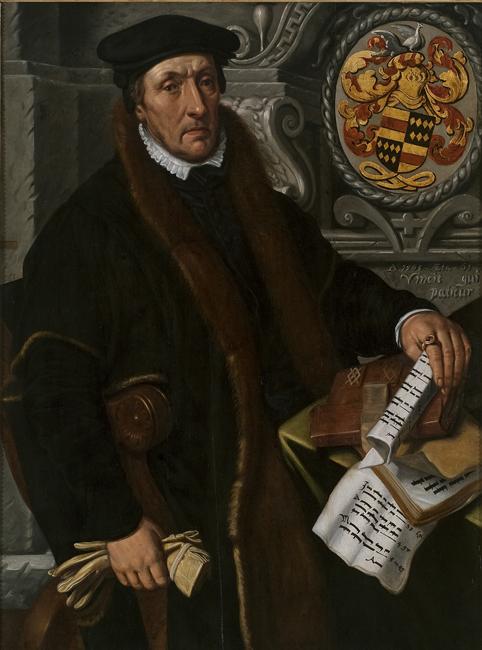 Portrait of Simon Marten Dircsz, 1565