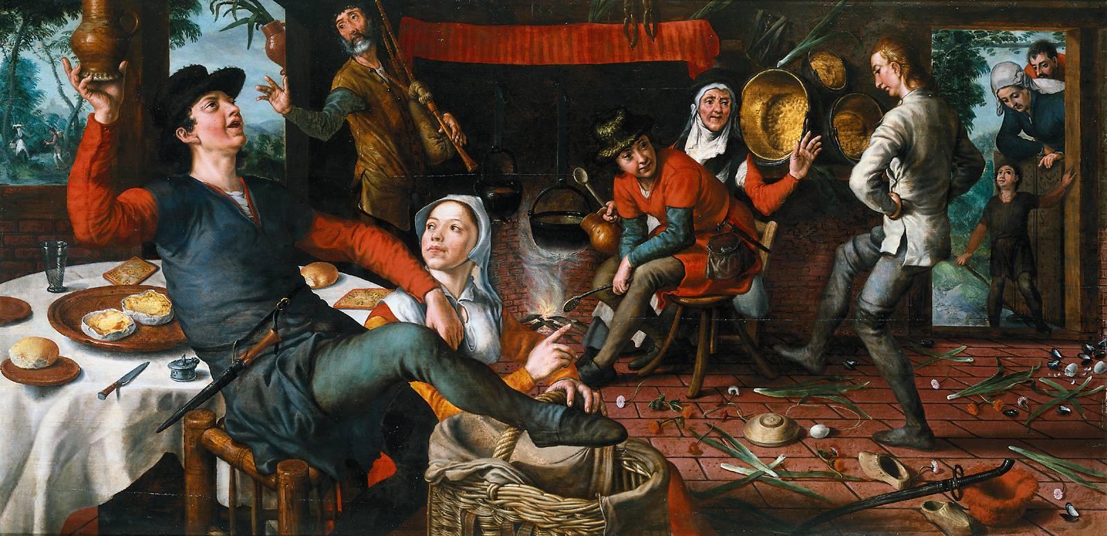 The Egg Dance, 1552