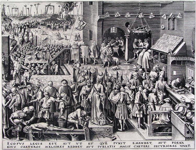 Justice, c.1556 - c.1560 - Pieter Bruegel the Elder