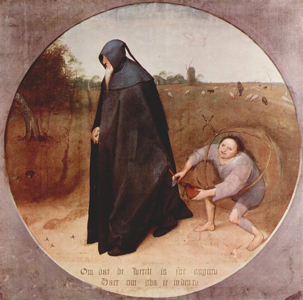 Misanthrope, 1568 - Pieter Bruegel the Elder