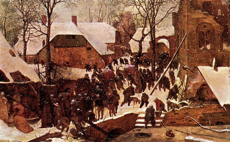 The Adoration of the Kings in the Snow, 1567 - Pieter Bruegel the Elder