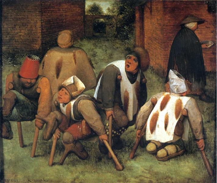 The Beggars, 1568 - Pieter Bruegel the Elder