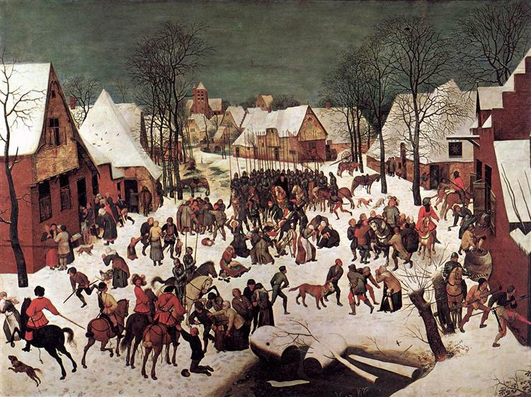 The Massacre of the Innocents, 1565 - 1566 - Pieter Bruegel the Elder