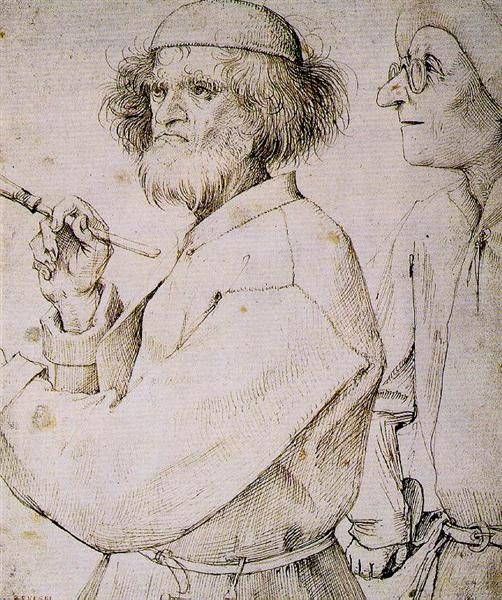 The Painter and the Art Lover, 1565 - Pieter Bruegel the Elder