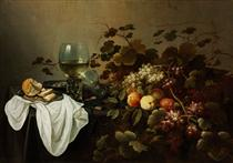 Still Life with Fruit and Roemer - Pieter Claesz