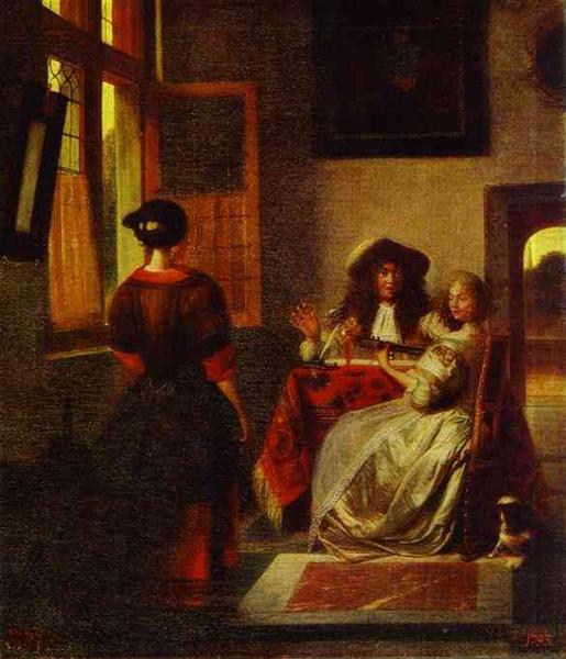 Concert C 1680 Pieter De Hooch Wikiart Org
