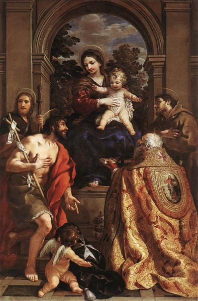 Madonna and Saints, 1626 - 1628 - Pietro da Cortona