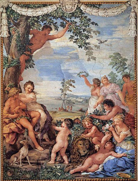 The Golden Age, 1637 - Pietro da Cortona