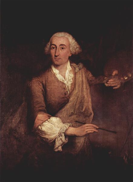 Portrait of Francesco Guardi - Pietro Longhi