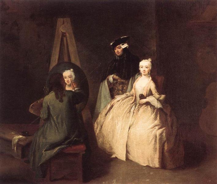 The Painter in his Studio - Pietro Longhi