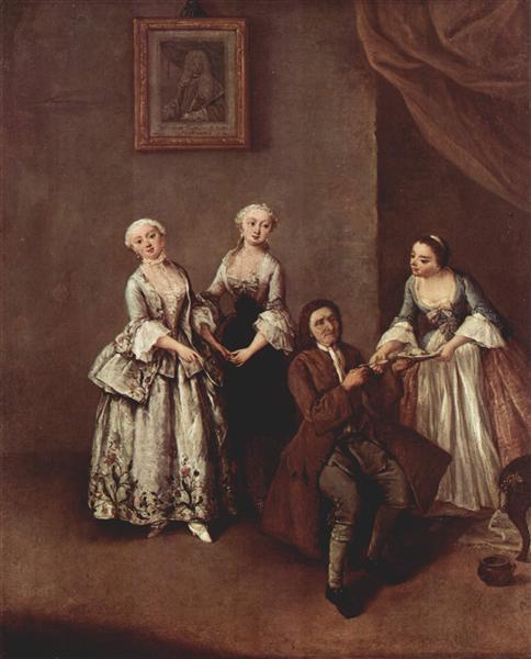 The Family - Pietro Longhi