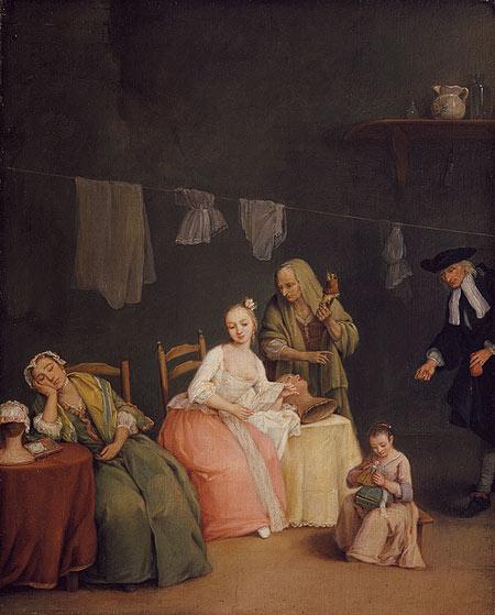 The Letter, 1746 - Pietro Longhi