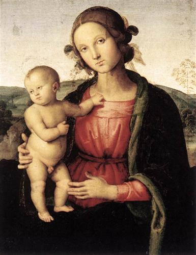 Madonna and Child - Pietro Perugino