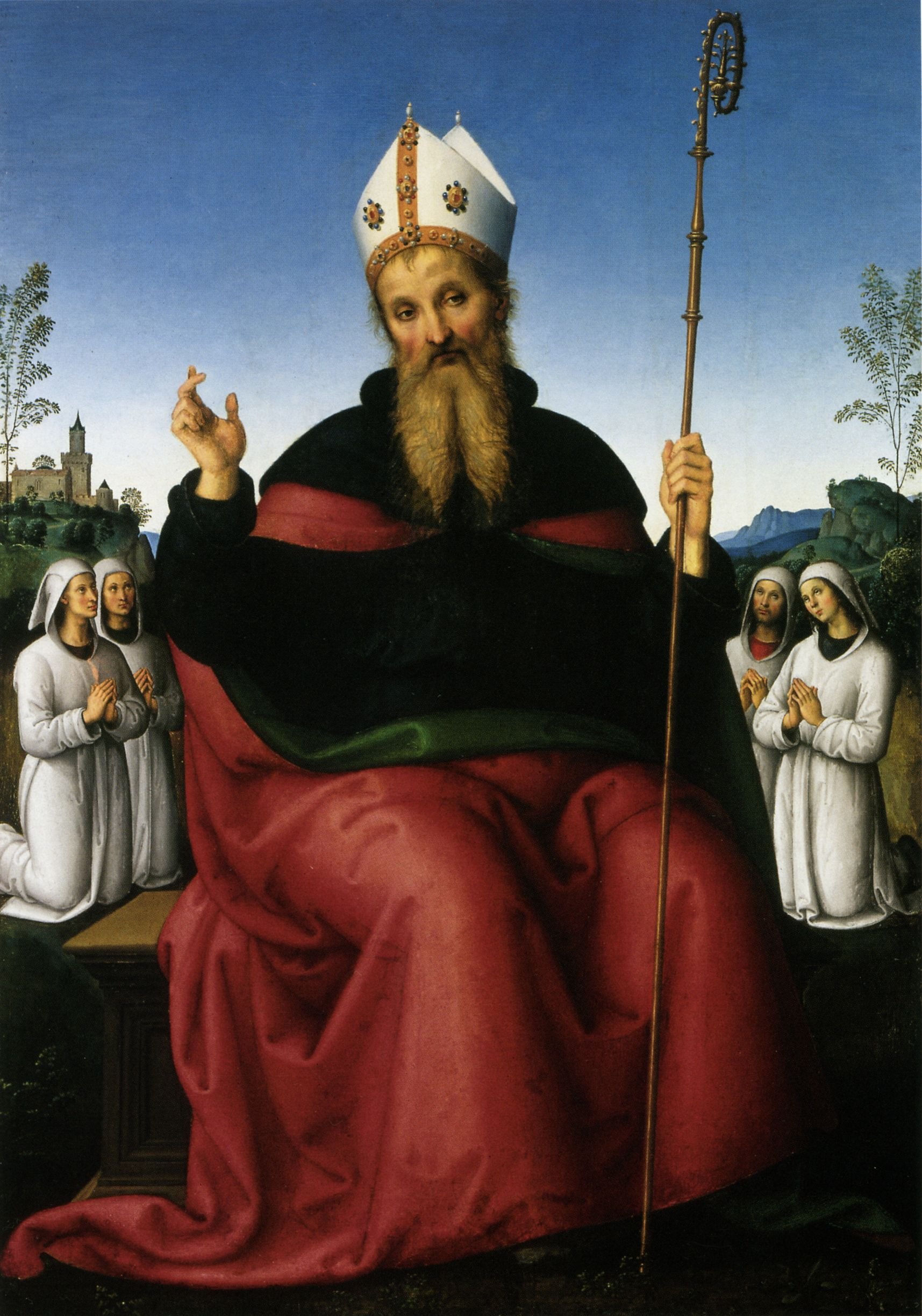 Augustine fetish art st o saint