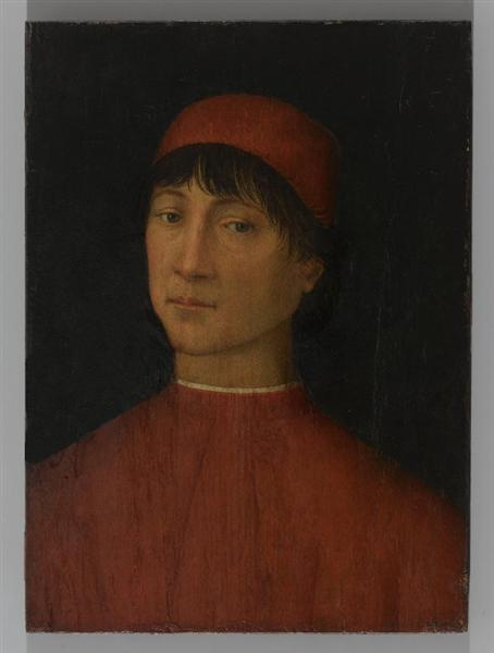 Portrait of a young Man, 1502 - Pinturicchio