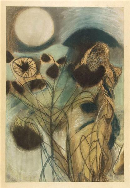 Pink Moon II, 1947 - Piroska Szanto