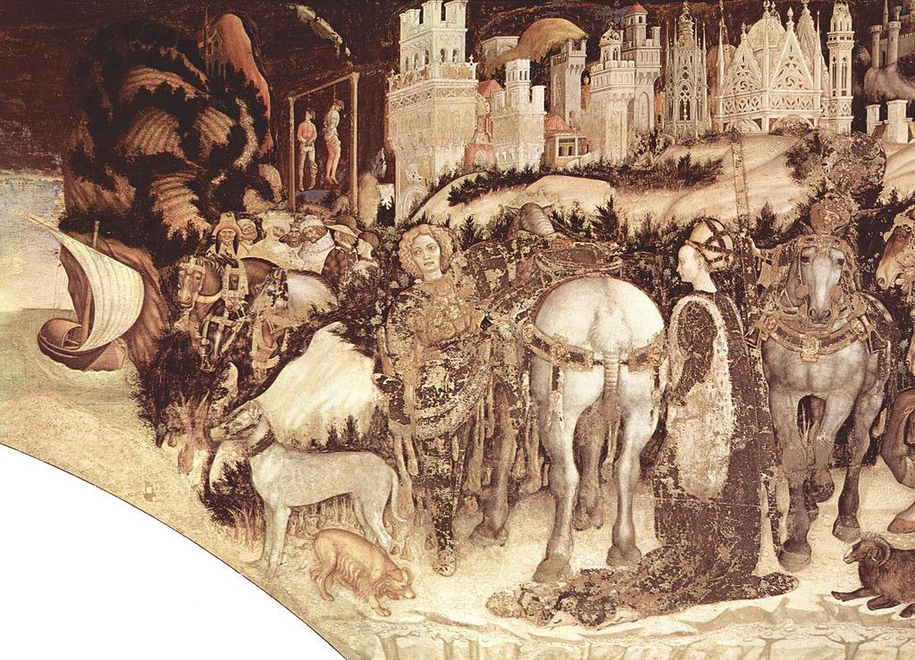 Saint George and the Princess (detail), 1438