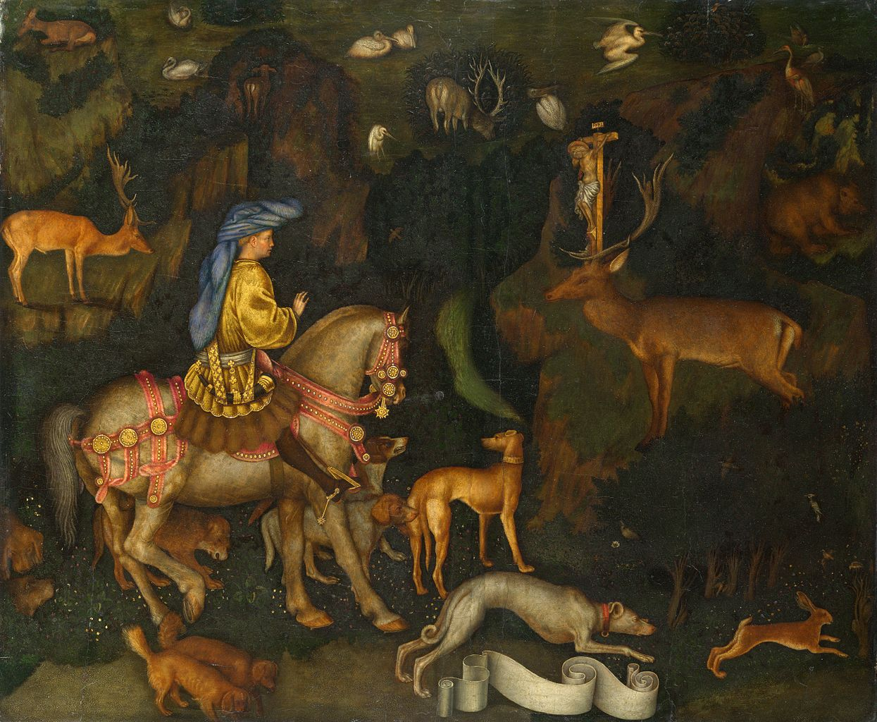 The Vision of Saint Eustace, 1438
