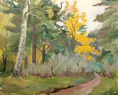 A path. In the fall., 1935