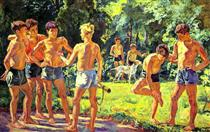 At summer - Pjotr Petrowitsch Kontschalowski