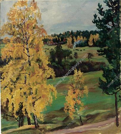 Autumn. Yellow wood., 1937