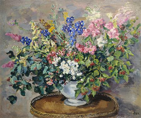 Bouquet of flowers, 1932