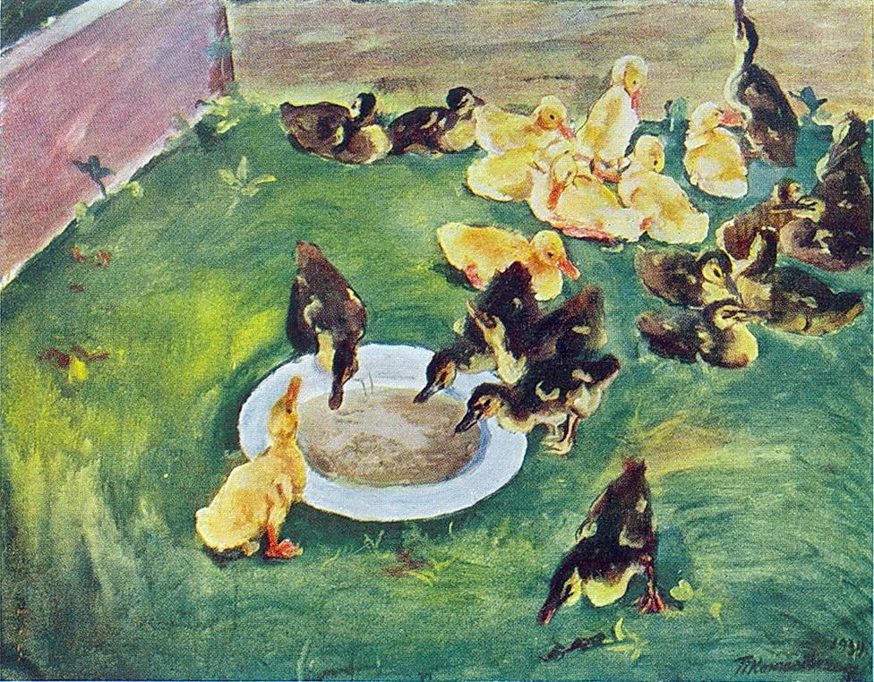 Ducklings, 1934